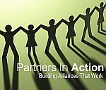 Partners In Action logo