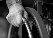 Wheelchair and hand